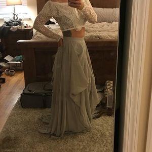 Dresses & Skirts - Gray Formal or Wedding Skirt